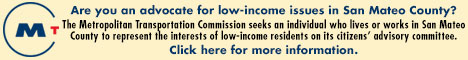 MTC need low income advocate