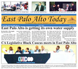 Mini Cover of Fall 2014 issue of East Palo Alto Today newspaper