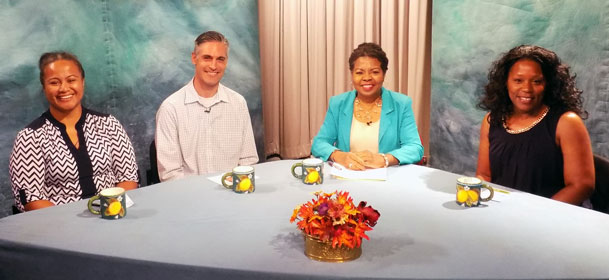 Photo from show discussion on the role of churches
