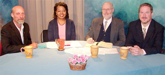 Photo of participants in the Talking with Henrietta show on Banks and Consumer Rights