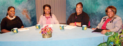 Participants on the Housing the Homeless TV Show