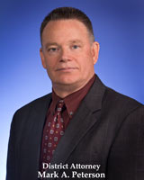 Photo of District Attorney Mark Peterson