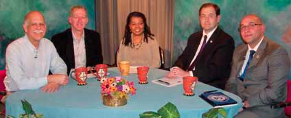 TV guests on preparing for flooding show